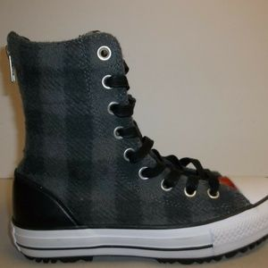 Converse CT HI-RISE BOOT Woolrich Wool New Shoes